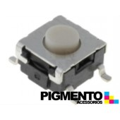 Botão 6x6.6x3.65:(0.65)mm SPST-NO 24VDC 50mA SMD