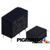 Relé electromagnético 12VDC 10A SPST-NO p/ PCB -