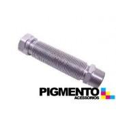 TUBO P/ GAS M/F 3/4 INOX 100/200 UNIVERSAL