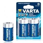 Pilhas Alcalinas Varta Energy LR20 (D) 1,5V 15000mAh