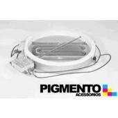 PLACA ELETRICA P/ VITROC. 1200W 230V C/HALO 170mm