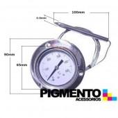 TERMOMETRO C/ CAPILAR 1,5 MT. P/ FORNO ( 0º A 500º)