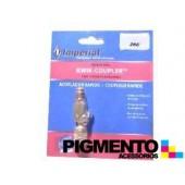 LIGACAO RAPIDA RECTA P/ MANG. FREON 5/16 SAE (R410-A)
