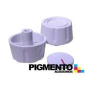 BOTAO P/ FOGAO FURO 6 mm INTERMEDIO ( BRANCO) UNIVERSAL