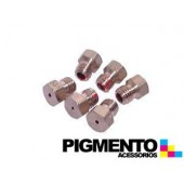 INJECTOR FOGAO M6 GAS NAT. JUNEX-SMEG-PHILIPS (KIT 6 UNID.)