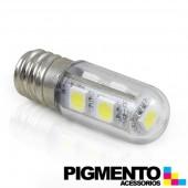 LAMPADA LED P/ FRIGORIFICO  ( E-14- 3W= 30W. LUZ BRANCA - 180 LUMEN 4000K )