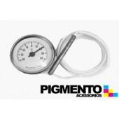 TERMOMETRO -40º + 40º F83 REDONDO C/ SONDA