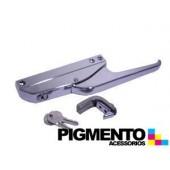 FECHO P/ FRIGORIFICO INDUSTRIAL 3 FUROS C/ CHAVE