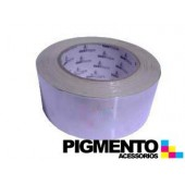 CINTA ISOLANTE DE ALUMINIO 50 mt. X 50mm ESP.40 MICRONS