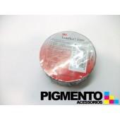 FITA ISOLADORA PVC PRETA 3M 20mt.X19mm.x0,13mm.