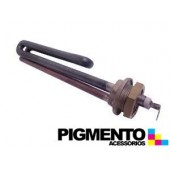 RESISTENCIA P/ CALDEIRA 1400W (ROSCA 3/4 COMP. 16cm.)