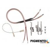 Conjunto elétrodos - ORIGINAL JUNKERS / VULCANO 87161019010