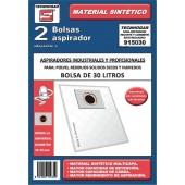 SACOS ASPIRADOR INDUSTRIAL 30 LT. UNIVERSAL (MICROFIBRA)