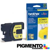 Tinteiro DCP145C (LC980Y) Amarelo COMPATIVEL