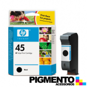 Tinteiro Num.45 DJ700/710C (51645A) Preto  COMPATÍVEL