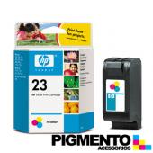 Tinteiro Num.23 DeskJet 89xC/OJ117xx/ DJ710C (C1823D) 3 Cores  COMPATÍVEL