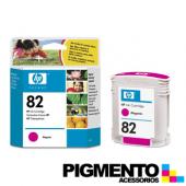 Tinteiro DesignJet 500 (C4912A) Num.82 Magenta COMPATÍVEL