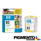 Tinteiro DesignJet 500 (C4913A) Num.82 Amarelo COMPATÍVEL