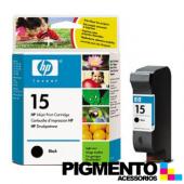 Tinteiro HP DeskJet 810C/816C (C6615D) Num.15 Preto COMPATÍVEL