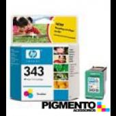 Tinteiro HP DJ 5740/6540 (8766E) Num.343 3 Cores  COMPATÍVEL