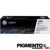 Toner HP Laserjet 128A (CE321A) Azul COMPATIVEL