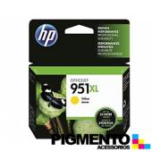 Tinteiro HP 951XL Officejet Pro 8100/8600 Amarelo  COMPATÍVEL