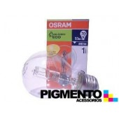 LAMPADA HALOGENIO E27 53W.-230V. OSRAM ECO 64544