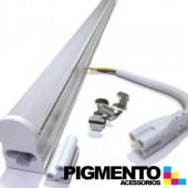 ARMADURA T5 C/ LAMPADA DE LED 10W (60cm.) (SMD2835)