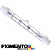 LAMPADA HALOGENIO R7S 80W. = 100W -230V. LINEAR (78mm.)
