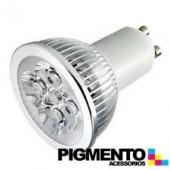 LAMPADA DE LED 4W=35W. 230V. GU10 (240 LUMEN 3000K)