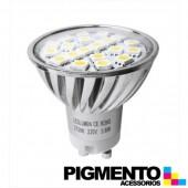 LAMPADA DE LED 3,6W.(=30W.) 230V. GU10 (2800K / 360 Lm.)