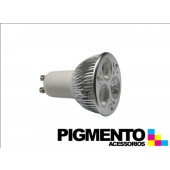LAMPADA DE LED 3W.(=20W.) 230V. GU10 (6400K / 195 Lm.)