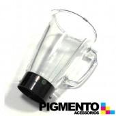 """ASSEMBLED """"GLASS BOWL + BASE COLOR BLACK  MS0A11435"""