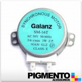 MOTOR GIRAPRATOS P MICROONDAS (AC 30V.-3W.-50/60HZ)