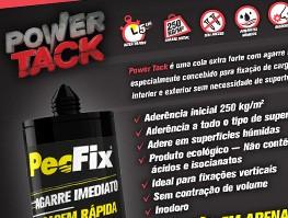COLA DE MONTAGEM POWER TACK ( PECFIX )