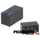 Relé mini 12VDC 41.7mA, DPDT 2A, PCB - Omron G5V-2-12VDC