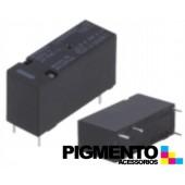 Relé 24VDC 9.2mA, SPDT 8A, PCB -