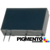 Relé electromagnético 24VDC 5A SPST-NO (4 pinos) para soldar em chassis - Forward FRM18NA-24VDC