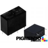 Relé electromagnético 12VDC 10A SPDT p/chassis - Omron G5Q-1-EU 12VDC