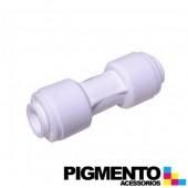 RACORD DIREITO 5/16 P/ TUBO DE AGUA DE FRIGORIFICO