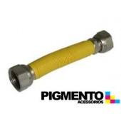 TUBO P/ GAS F/ F 1/2 INOX 100/200 mm UNIVERSAL
