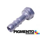 BICO DRT. P/ TUBO DE GAS NAT. (ALUMINIO) (FEMEA 1/