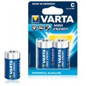 Pilhas Alcalinas Varta Energy LR14 (C) 1.5V 7000mAh