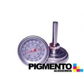 TERMOMETRO C/ ASTE P/ FORNO ( 50º A 400º)