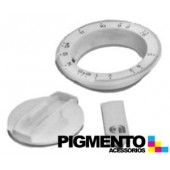 BOTAO P/ TIMER ARISTON BRANCO