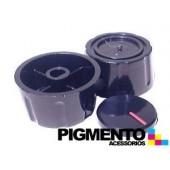 BOTAO P/ FOGAO FURO 8 mm RASO ( PRETO) UNIVERSAL