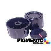BOTAO P/ FOGAO FURO 6 mm RASO ( PRETO) UNIVERSAL