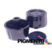 BOTAO P/ FOGAO FURO 8 mm INTERMEDIO ( PRETO)