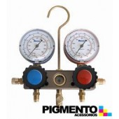 CONJUNTO MANOMETROS R410A-404A-407C
