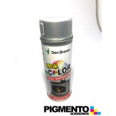 SPRAY TINTA ALUMINIO (ALTA TEMP.) 400ml.